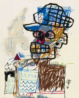 Jean-Michel Basquiat, Untitled (Scales of Justice), 1982