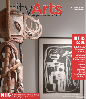 City Arts Cover October 2010