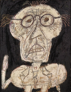 Jean Dubuffet, Dhôtel, July - August 1947