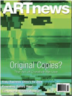 ARTnews Cover March 2012