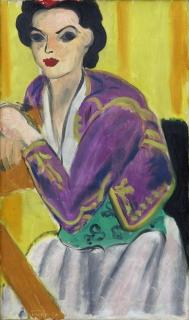Henri Matisse, Boléro Violet, 1937
