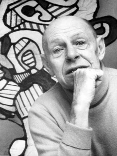 Photograph of Jean Dubuffet