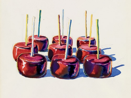Wayne Thiebaud, Nine Jelly Apples, 1964