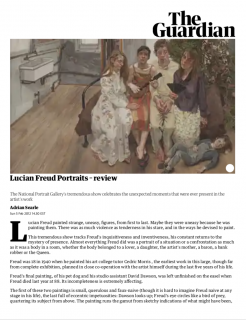 "Photograph of ""Lucian Freud Portraits - Review"""