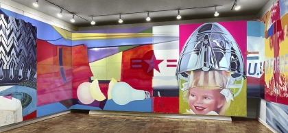 James Rosenquist, F-111, 1965