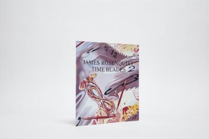 James Rosenquist Time Blades Catalogue Cover