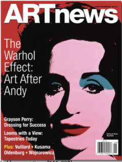 ARTnews cover April 2012