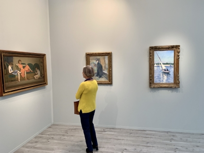 Frieze Masters 2019 at Regents Park