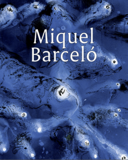 Miquel Barceló catalogue cover (blue)