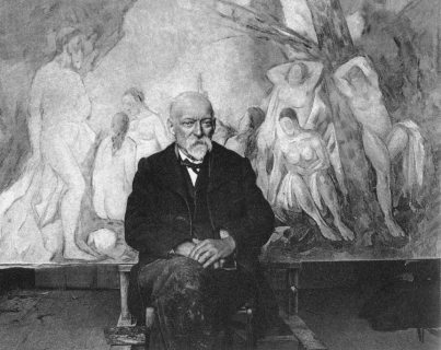Photograph of Paul Cézanne