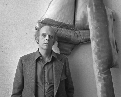 Photograph of Claes Oldenburg
