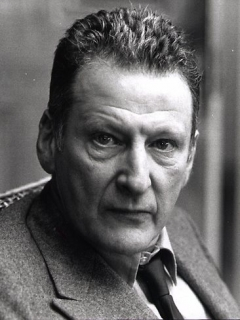 Photograph of Lucian Freud