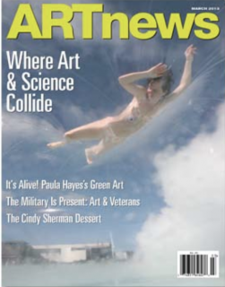 Cover of ARTnews March 2013
