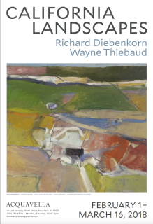 California Landscapes: Richard Diebenkorn Berkeley #44 poster