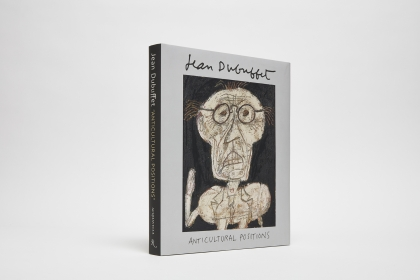 "Jean Dubuffet ""Anticultural Positions"" cover"