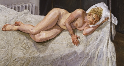 Lucian Freud, Ria, Naked Portrait, 2006-7
