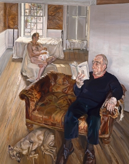 Lucian Freud, Large Interior, Notting Hill, 1998