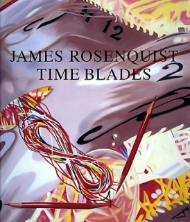 James Rosenquist Time Blades Catalogue Cover