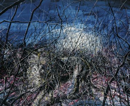 Zeng Fanzhi, Lion, 2008