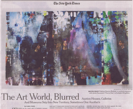 """Photograph of """"The Art World, Blurred"""""""