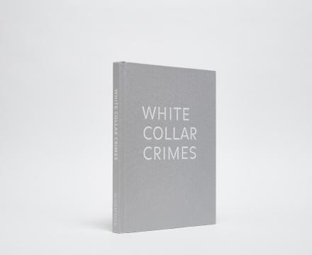 White Collar Crimes cover, grey