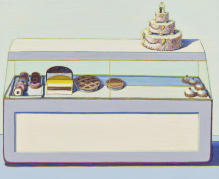 Thiebaud, Bakery Case, 1966