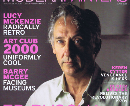 Modern Painters Cover April 2013