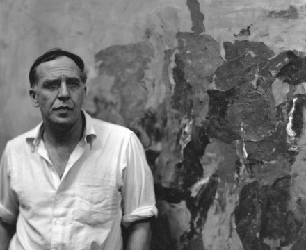 Photograph of Philip Guston