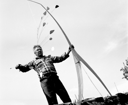Calder Archival Photo