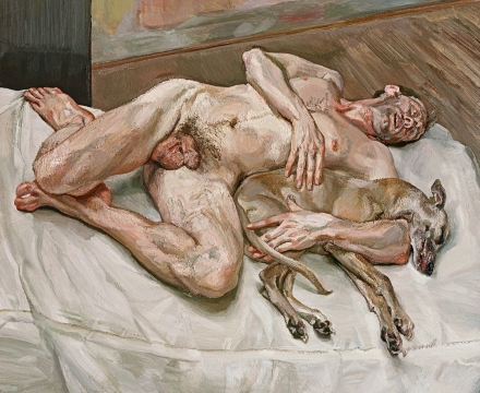 Lucian Freud, Sunny Morning-Eight Legs, 1997