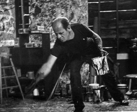 Photograph of Jackson Pollock