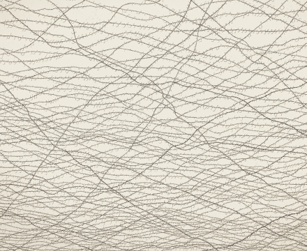 Jacob El Hanani, The Hebrew Barbed Wire, 2013
