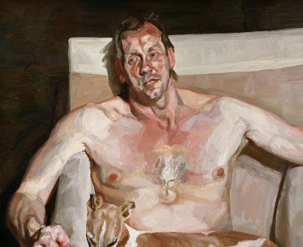 Lucian Freud, Eli and David, 2006