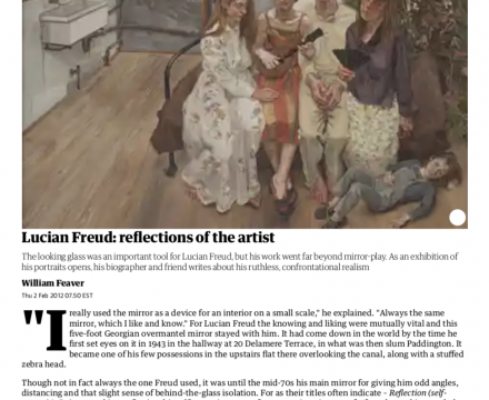 """Photograph of """"Lucian Freud - Reflections of the Artist"""""""