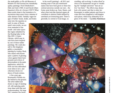 """Photograph of """"James Rosenquist Review"""""""