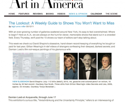 """Photograph of """"The Lookout: A Weekly Guide to Shows You Won't Want to Miss"""""""