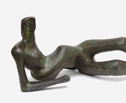 Henry Moore, Reclining Figure No. 2, 1953