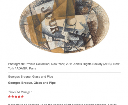 "Photograph of ""Review: 'Georges Braque: Pioneer of Modernism'"""