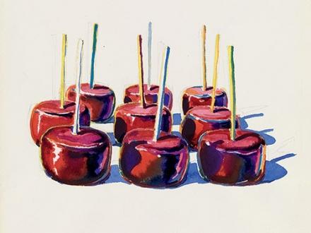 Wayne Thiebaud, Nine Jelly Apples, 1964
