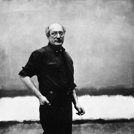 Photograph of Mark Rothko