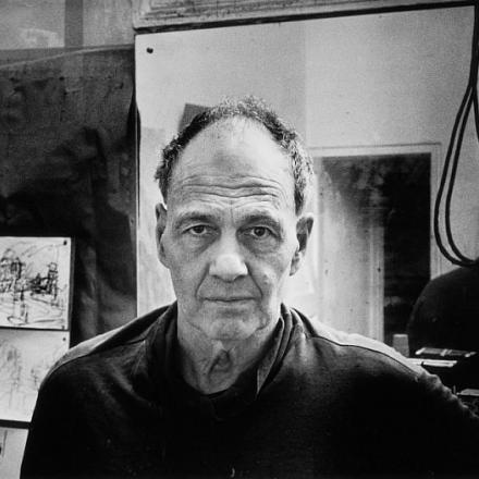 Photograph of Frank Auerbach