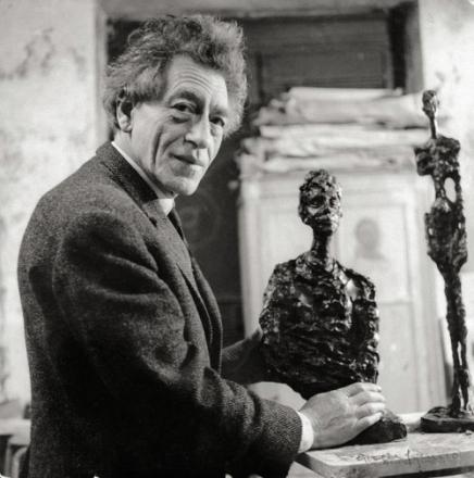 Photograph of Alberto Giacometti
