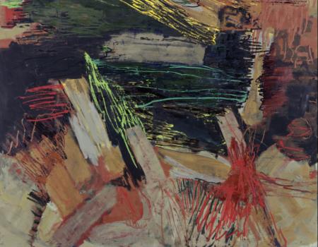 Per Kirkeby Revels in Flamboyant Visuals and Dark Future at Windsor Gallery
