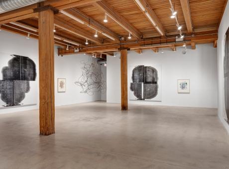 Christopher Wool solo exhibition at Corbett vs. Dempsey