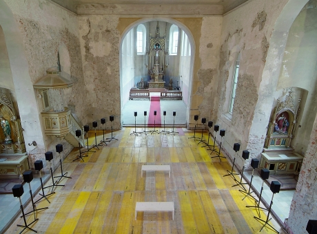 """Groundwork presents Janet Cardiff's """"The Forty Part Motet"""""""