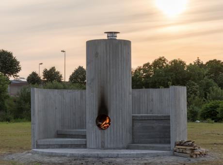 Oscar Tuazon: Fire Worship