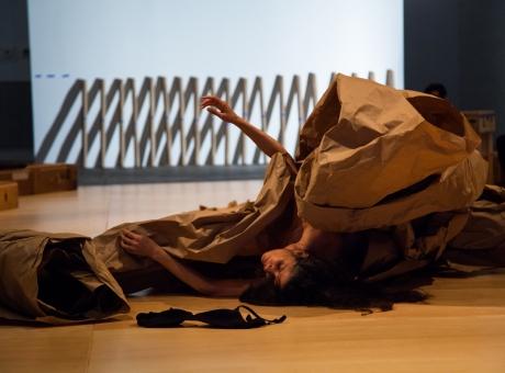 Janine Antoni and Anna Halprin: Paper Dance