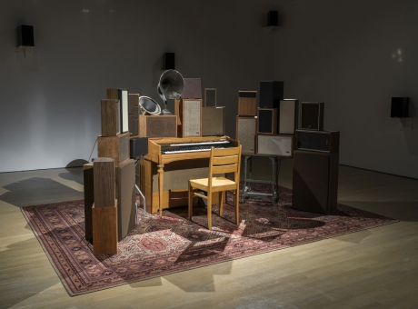 "Cardiff and Miller, Ragnar Kjartansson in ""Leonard Cohen: A Crack in Everything"""