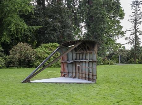 Oscar Tuazon in Sculpture Biennale