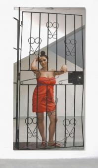 """Michelangelo Pistoletto in """"Plato in L.A.: Contemporary Artists' Visions"""""""